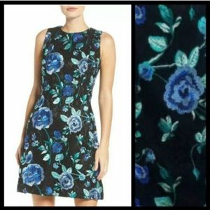 NWT Eliza J Embroidered Floral Lace Dress